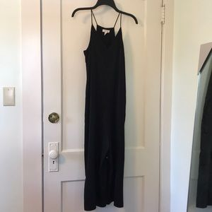 Silence + Noise black jumpsuit
